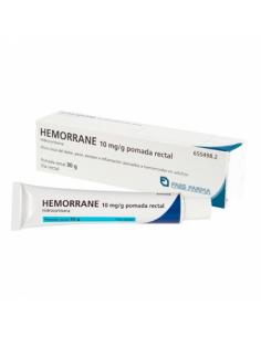 Hemorrane 10 mg/g pomada...
