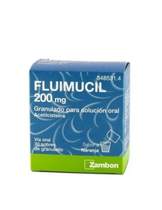 Fluimucil 200 mg granulado...